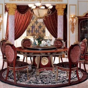MBK-9836 Dining Room Set(Round Table)